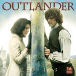 Outlander 2019 Square Wall Calendar