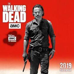 The Walking Dead AMC 2019 Mini Wall Calendar