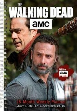 The Walking Dead AMC 18-Month 2019 Weekly Planner Diary