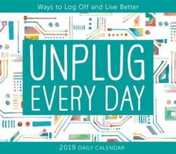 Unplug Every Day 2019 Boxed Daily Calendar