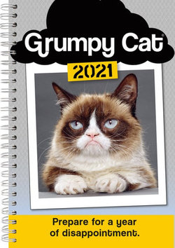 2021 Grumpy Cat(r) 17-Month Weekly Planner