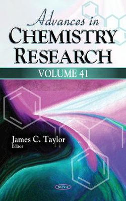 Advances in Chemistry Research. Volume 41