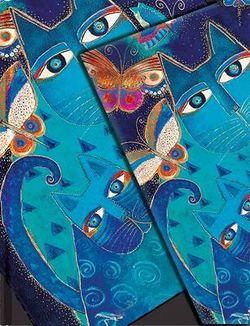 Blue Cats and Butterflies