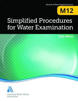 Simplified Procedures for Water Examination