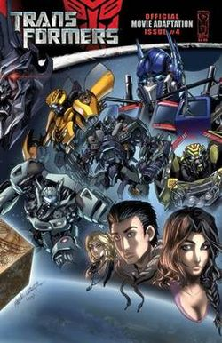 Transformers Official Movie Adaptation 4