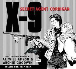 X-9 Secret Agent Corrigan Volume 1
