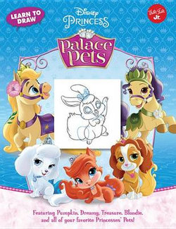 Learn to Draw Disney Princess Palace Pets