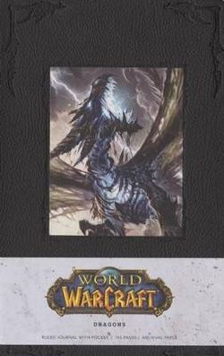 World of Warcraft Dragons Hardcover Ruled Journal (Large)