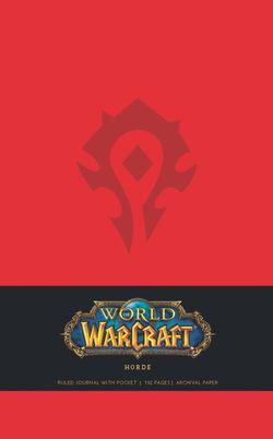 World of Warcraft Horde Hardcover Ruled Journal (Large)