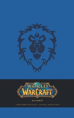 World of Warcraft Alliance Hardcover Blank Journal (Large)