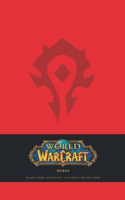 World of Warcraft Horde Hardcover Blank Journal (Large)