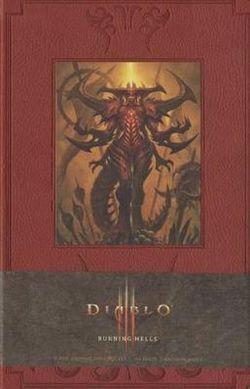 Diablo Burning Hells Hardcover Blank Journal