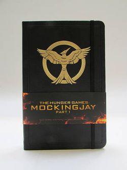 Hunger Games: Mockingjay Part 1 Hardcover Ruled Journal