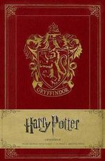Harry Potter Gryffindor Hardcover Ruled Journal