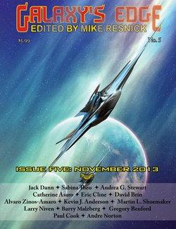 Galaxy's Edge Magazine: Issue 5, November 2013