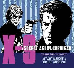 X-9 Secret Agent Corrigan Volume 4