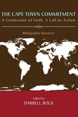 The Cape Town Commitment: a Confession of Faith, a Call to Action