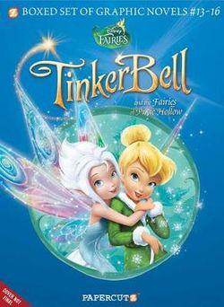 Disney Fairies Graphic Novels Boxed Set: Vol #13-16