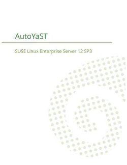 SUSE Linux Enterprise Server 12 - AutoYaST