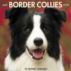 Just Border Collies 2018 Wall Calendar (Dog Breed Calendar)