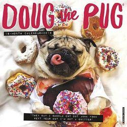 Doug the Pug 2019 Wall Calendar (Dog Breed Calendar) | Angus