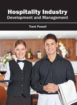 Hospitality Industry: Development and Management