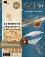 Harry Potter: Quidditch Deluxe Book and Model Set