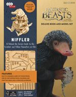 Fantastic Beasts and Where to Find Them : Niffler Deluxe Book and Model Set