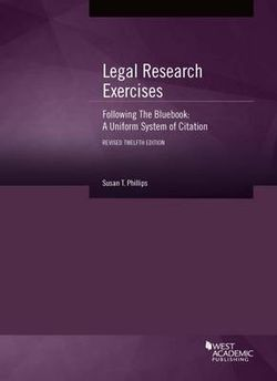 Legal Research Exercises Following the Bluebook