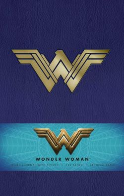 DC Comics: Wonder Woman Hardcover Ruled Journal