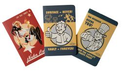 Fallout Pocket Notebook Collection: Set of 3