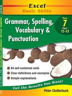 Excel Basic Skills - Grammar, Spelling, Vocabulary & Punctuation
