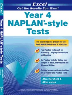 Excel Year 4 NAPLAN*-style Tests