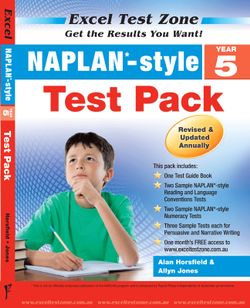 NAPLAN-style Test Pack - Year 5
