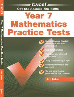 Excel - Year 7 Mathematics Practice Tests