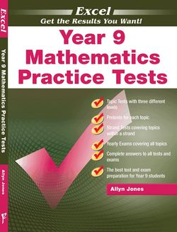 Excel - Year 9 Mathematics Practice Tests