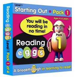 Reading Eggs, Level 1, Ages 4-6 Years