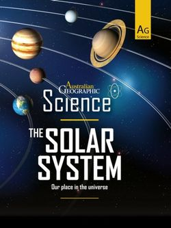 Australian Geographic Science: The Solar System