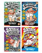 Captain Underpants 1–4 Boxed Set