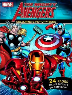 The Mighty Avengers Colouring and Activity Book