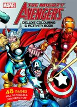 The Mighty Avengers Deluxe Colouring and Activity Book
