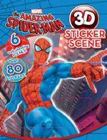 Amazing Spiderman 3D Sticker Scene