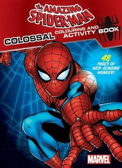 Amazing Spiderman Colossal Colouring & Activity Book