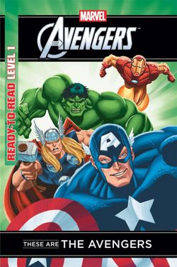 Marvel Read-to-Read Level 1: These are the Avengers