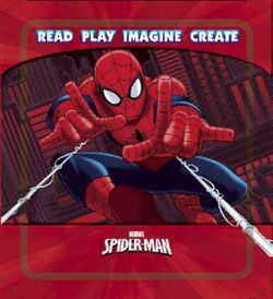 Marvel: Spider-Man Read-Play-Imagine-Create Tin