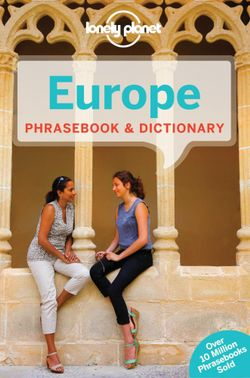 Lonely Planet Europe Phrasebook & Dictionary
