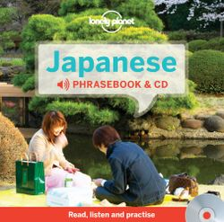 Lonely Planet Japanese Phrasebook and Audio CD