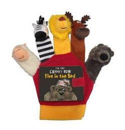 Very Cranky Bear: Five in the Bed Hand Puppet