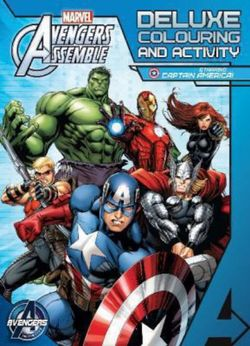 Avengers Assemble: Deluxe Colouring and Activity Book (starring Captain America)