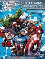 Avengers Assemble: Colouring and Activity Book (starring Captain America)